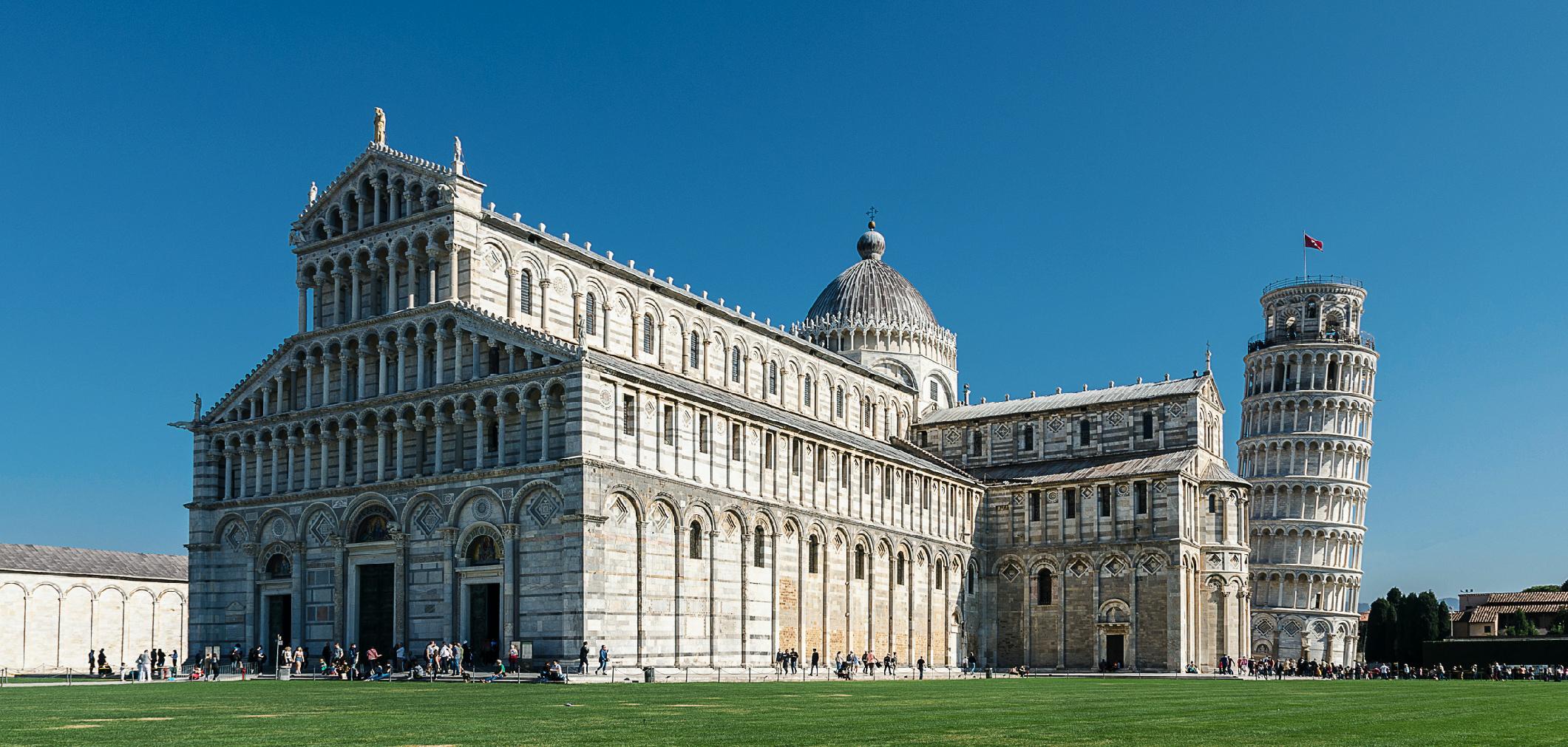 羅馬式藝術 比薩斜塔